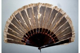 Partridge, hunting fan, circa 1895-1900