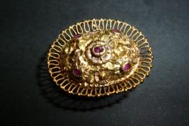 Vinaigrette jewel, 19th century
