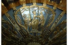 Couronnement de Charles IV, éventail vers 1788