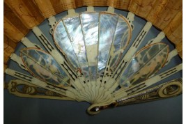 Coronation of Charles IV of Spain, fan circa 1788