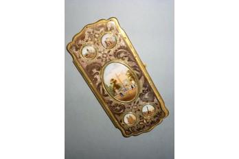 Souvenir de Paris, étui à cigares Napoléon III