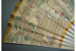 Éventail japonais, XIXème siècle
