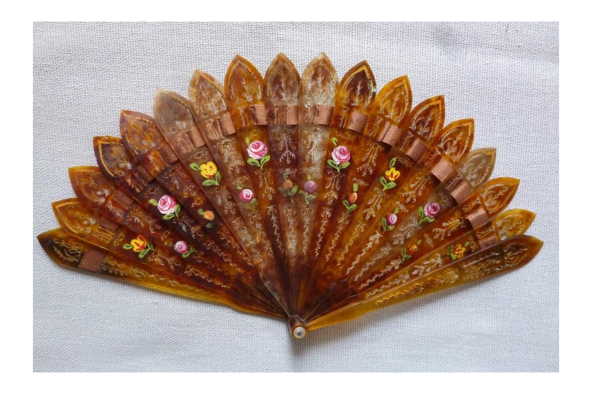 Fan for young girl, circa 1820-30