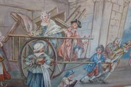 The move, 18th century painting