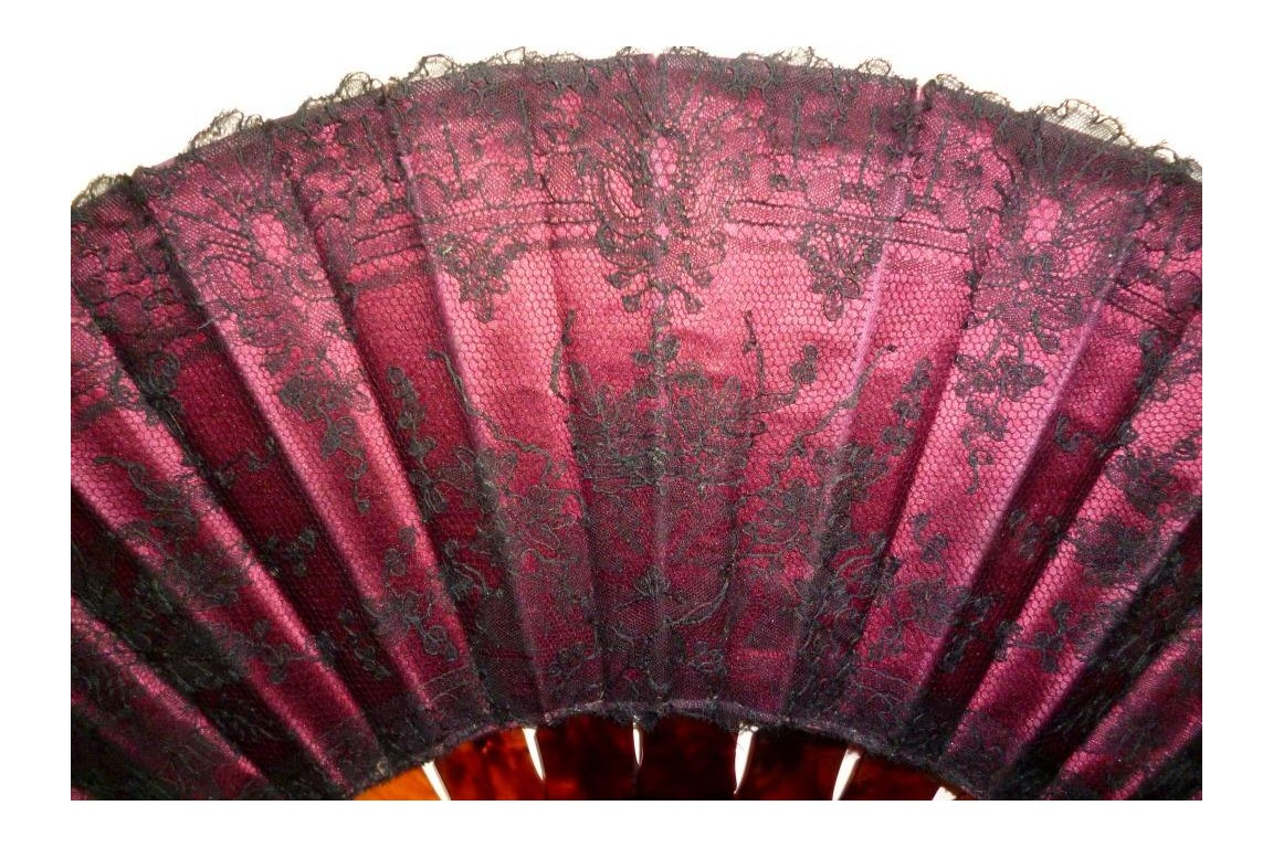Bamboo and lace, late 19th century