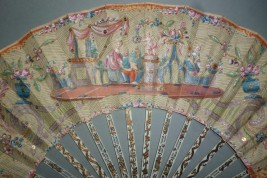 The marriage proposal, fan circa 1780
