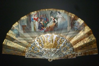 Cendrillon, éventail vers 1860