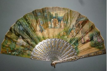 Faust and Marguerite, fan since James Tissot, circa 1865-70