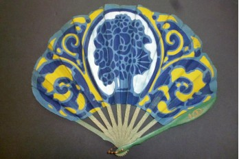 In taste of Ruhlmann, Art Deco fan 1926