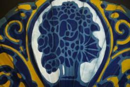 Dans le goût de Ruhlmann, éventail Art Déco 1926