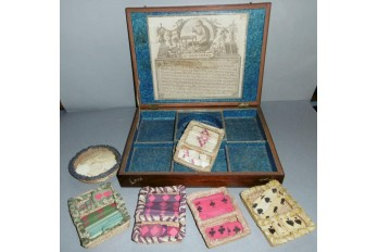 Au Singe Violet, game box by Biennais, late 18th centuy