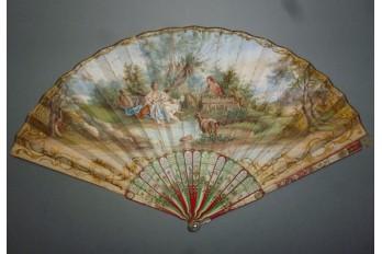 Il n'y a place que pour vous, Mariaval ! Fan circa 1730-40