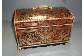Jewelry box with Boulle marquetry, period Napoleon III