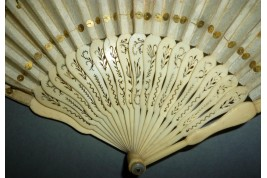 Imperial pineapple, fan circa 1805-10