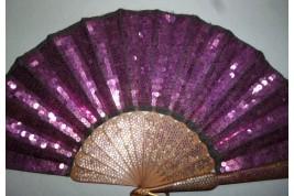 La vie en violet, fan circa 1900