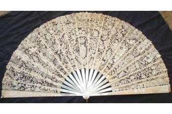 Fan from a Marquise, fan circa 1885-95