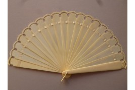 Crowned, late 19th century fans