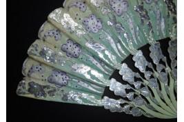Sultane flowers, fan circa 1900-10