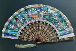 Chinese fan, Canton, 19th century
