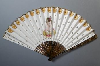 The bride, fan circa 1830