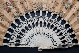 Sweetness of chinese life, fan circa 1840-50