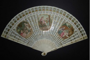 Maternity, fan by Duvelleroy circa 1900