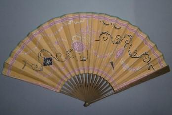 Ornementations, fan circa 1800