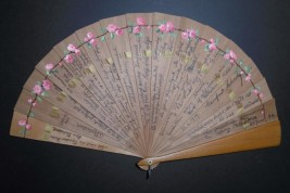 The roses of youth, autograph fan, 1919