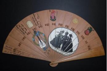 Éventail autographe, 1919-20