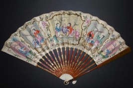 Chinoiseries, fan circa 1780