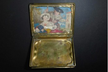 Hidden, articulated box, 18th century