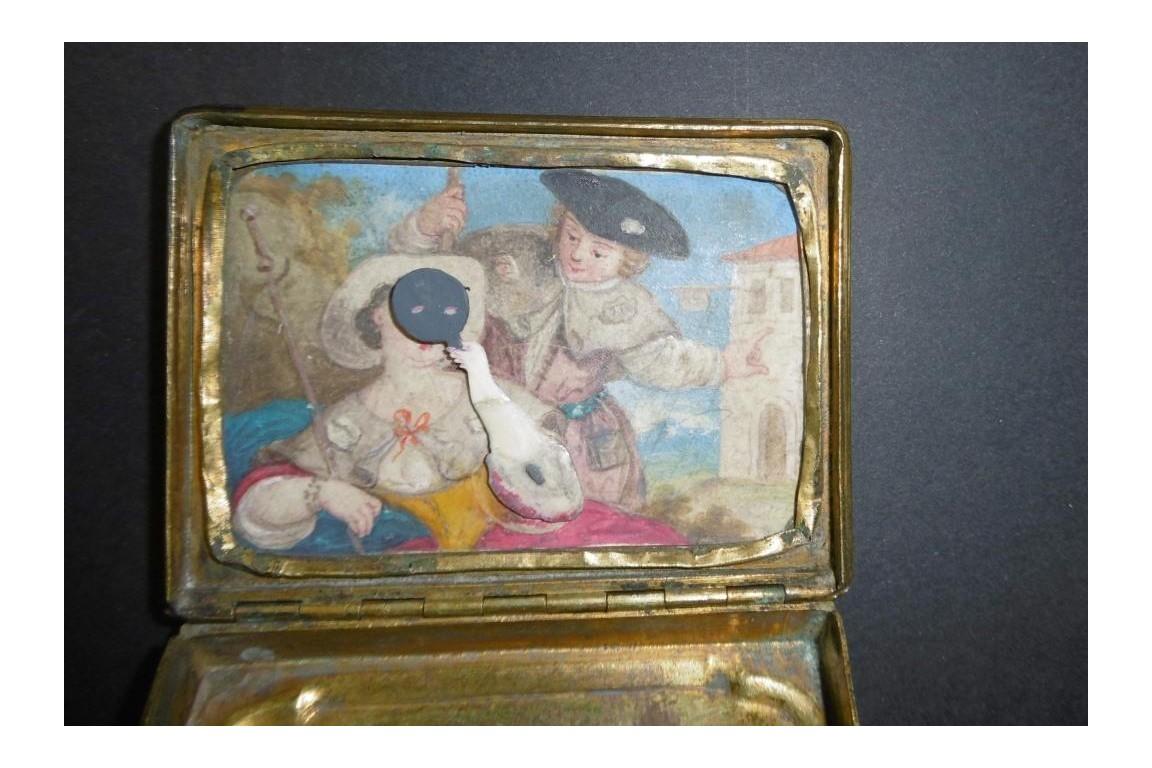 Hidden, articulated box, 18th century