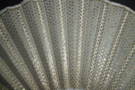 Golden armour, early 20th century fan