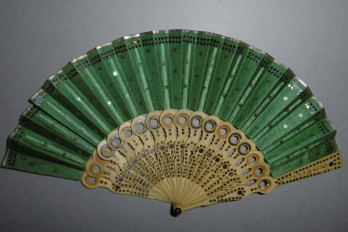 Small view, optical fan, circa 1800-1815