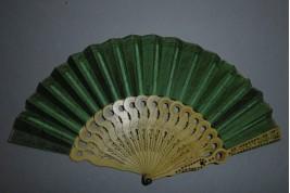 Small view, optical fan, circa 1800-1815