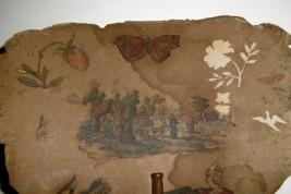 Tulipe de paille, écran XVIIIème siècle