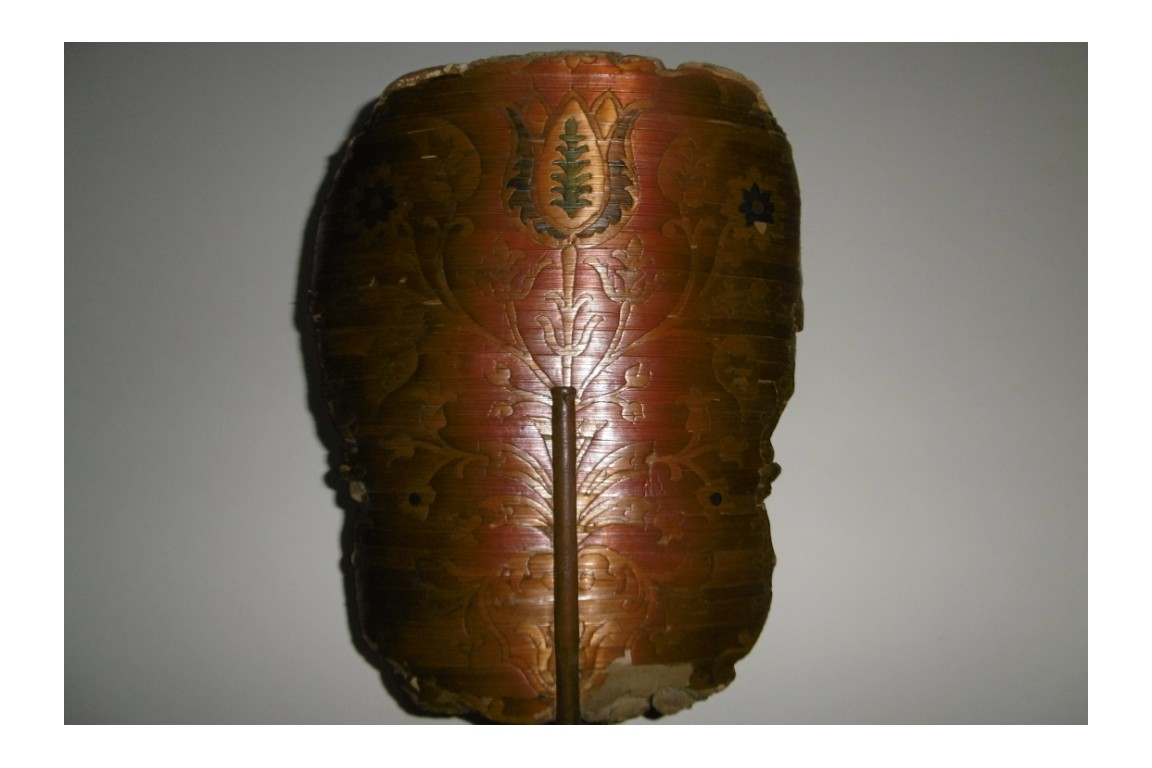 Tulip of straw, fixed fan, 18th century