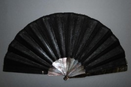 Thousand shades of grey, early 20th century fan