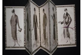 Carha ou la mode Art Déco, dépliant commercial vers 1931