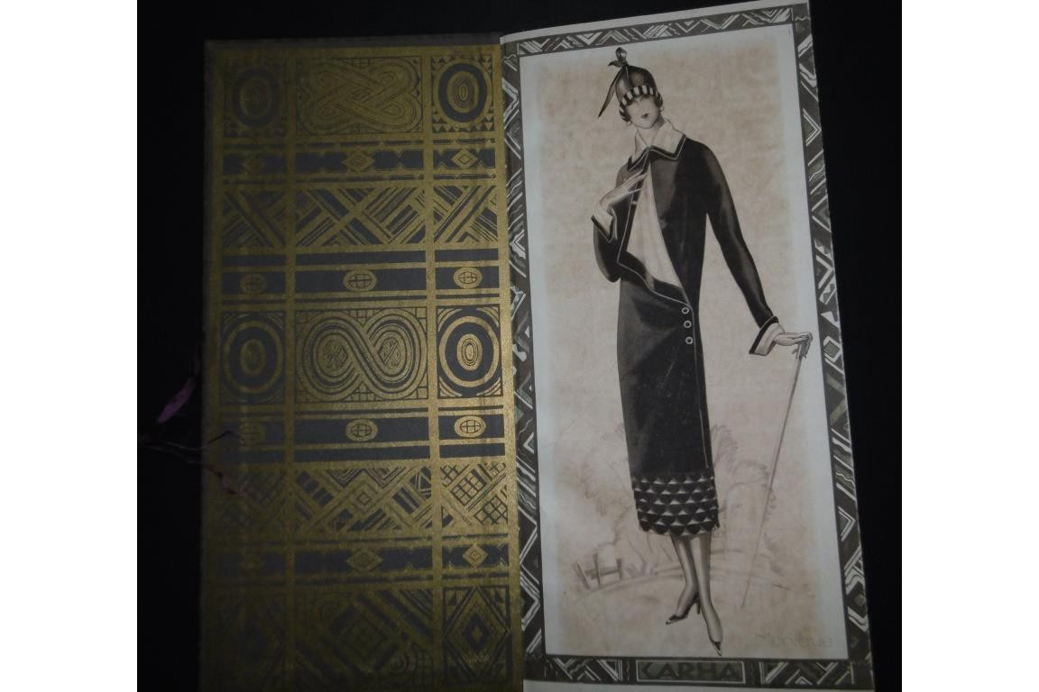 Carha or Art Déco fashion, advertising book 1931