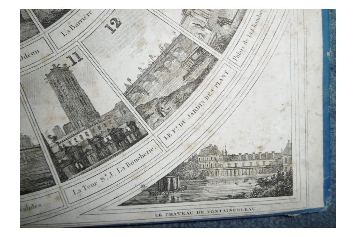 Jeu des Monuments de Paris, fin XIXème ?