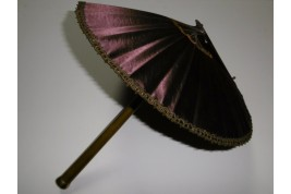 Éventail-ombrelle, vers 1900-1910
