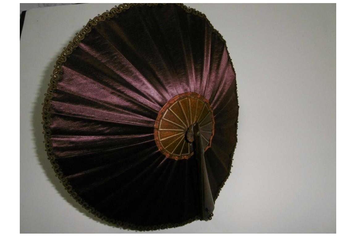 Umbrella fan, circa 1900-1910