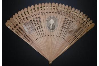 Hommage à Mirabeau, éventail vers 1789