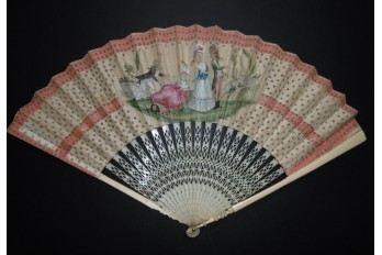 The fault and the virtue, fan circa 1780-90