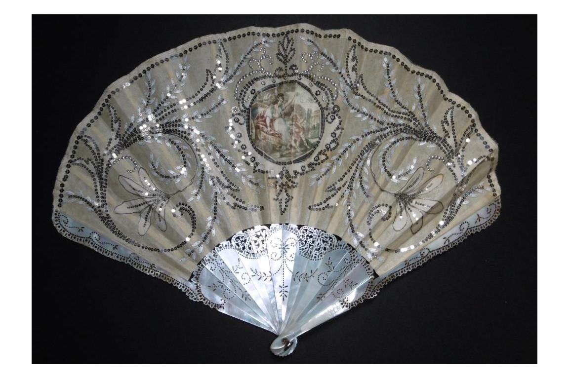 I'm aiming for love, Duvelleroy fan, Art Nouveau period