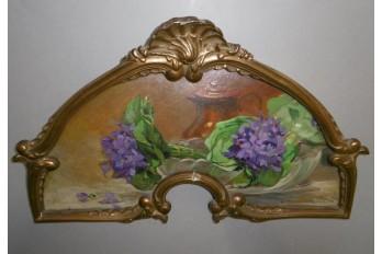 Bouquets of violets by Anna Devaux-Raillon, 20th century