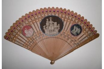 Serment Civique, revolutionnary fan , 1789