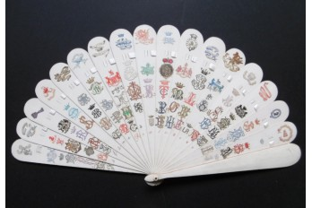 Crests and monograms, late 19th century