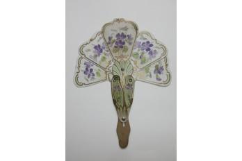 Violets, curisosity fan circa 1904